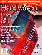 Handwoven Magazine Issue 110 by Interweave