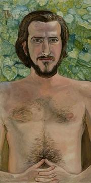 Author photo. Portrait by Sylvia Sleigh (1970).