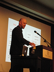 Author photo. Alva Noë [credit: Wikimedia Commons user jwalsh from Seattle]