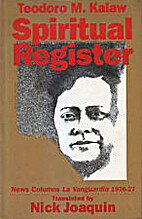 Spiritual register: The news columns of…