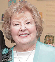 """Author photo. Gloria Gaither poses for a picture in September 2016. By Corkythehornetfan - Own work, CC BY-SA 3.0, <a href=""""//commons.wikimedia.org/w/index.php?curid=56424584"""" rel=""""nofollow"""" target=""""_top"""">https://commons.wikimedia.org/w/index.php?curid=56424584</a>"""