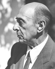 Author photo. Photo by Florence Homolka, Schoenberg Archives at USC.