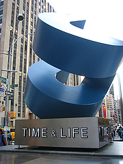 Author photo. Time & Life Sculpture, Manhattan, New York.  Photo by Jeremy Keith / Flickr