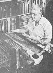 Author photo. Marguerite Porter Davison from A Handweaver's Pattern Book by Marguerite Porter Daviston
