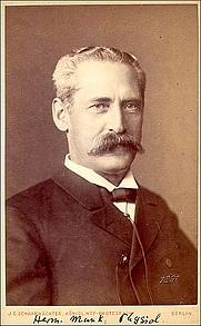 Author photo. Hermann Munk, 1891. Wikimedia Commons.