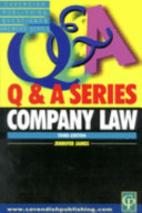 Company Law Q&A by Jennifer James