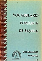 Vocabulario Popoluca de Sayula:…