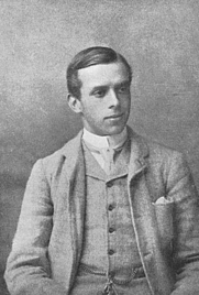 Author photo. Frontispiece to A Cotswold Village (3rd edition, 6th impression, 1909) Originally uploaded by mjfarmer, but on wrong author page.