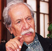 Author photo. Luis Guillermo Lumbreras, of Perú