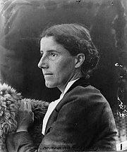 """Author photo. From <a href=""""http://en.wikipedia.org/wiki/Image:Charlotte_Perkins_Gilman_c._1900.jpg"""">Wikipedia</a>"""