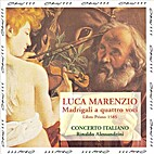 Luca Marenzio: Madrigali a quattro voci,…