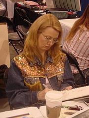 Author photo. Heroes Con 2006 (Wikipedia)