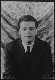 Author photo. Trader Faulkner, 1951. Photo by Carl Van Vechten. (Library of Congress Prints and Photographs Division)