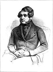 Author photo. Louis Huart, Charles Philipon, Galerie de la presse, de la littérature et des beaux-arts, Paris, Aubert, vol. 1, 1839.