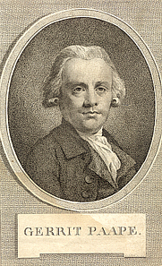 Author photo. Engraving by M. d' Sallieth (1788)