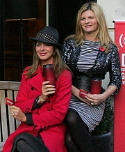 """Author photo. Trinny Woodall (left) and Susannah Constantine {right} at a Starbucks Product Red promotional event on November 3rd 2009 at the Starbucks branch on St Martin's Lane, London By Bitchbuzz (<a href=""""//www.bitchbuzz.com/"""" rel=""""nofollow"""" target=""""_top"""">http://www.bitchbuzz.com/</a>), exact author unknown - <a href=""""//www.flickr.com/photos/bitchbuzz/4074078761/"""" rel=""""nofollow"""" target=""""_top"""">https://www.flickr.com/photos/bitchbuzz/4074078761/</a> (cropped from), CC BY 2.0, <a href=""""//commons.wikimedia.org/w/index.php?curid=18231252"""" rel=""""nofollow"""" target=""""_top"""">https://commons.wikimedia.org/w/index.php?curid=18231252</a>"""