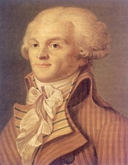 "Author photo. Anonymous Portrait of Maximilien Robespierre c. 1793. From <a href=""http://en.wikipedia.org/wiki/Image:Robespierre.jpg"">Wikipedia</a>"