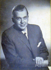Author photo. E.F. (Fritz) Schumacher - Photograph by Peter Beckett from cover of Small Is Beautiful