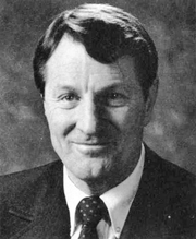 """Author photo. Photo of Neal A. Maxwell, an apostle and a member of the Quorum of the Twelve Apostles of The Church of Jesus Christ of Latter-day Saints (LDS Church). By Editors: Christie Williams and LeeAnn Roberts - The Rixida: annual publication of the associated students of Ricks College.: Image found here, Public Domain, <a href=""""//commons.wikimedia.org/w/index.php?curid=16891197"""" rel=""""nofollow"""" target=""""_top"""">https://commons.wikimedia.org/w/index.php?curid=16891197</a>"""