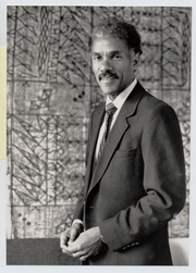 Author photo. Albert J. Raboteau, Henry W. Putnam Professor of Relligion, Princeton University. Photo by J.T. Miller, 1990 (photo courtesy of Princeton University)