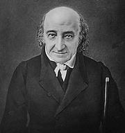 Author photo. Albert Gallatin (1761-1849) Photograph dated 1848