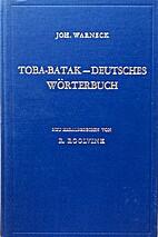 Toba-batak-Deutsches Wörterbuch by…
