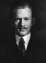 """Author photo. June 1926 Yale PhD photo inscribed """"for Professor R.S.Lull with the deepest regards of his pupil George G. Simpson"""""""