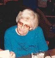 Author photo. Lee Hoffman, 1988.