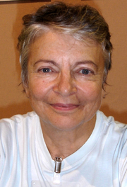 """Author photo. By Dominique_Manotti_(Huma_2006).jpg: User:Fred.thderivative work: César (talk) - Dominique_Manotti_(Huma_2006).jpg, CC BY-SA 3.0, <a href=""""https://commons.wikimedia.org/w/index.php?curid=17618940"""" rel=""""nofollow"""" target=""""_top"""">https://commons.wikimedia.org/w/index.php?curid=17618940</a>"""