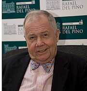 """Author photo. American investor Jim Rogers in Madrid (Spain) during an interview. By FDV - Own work, CC BY-SA 3.0, <a href=""""//commons.wikimedia.org/w/index.php?curid=10684512"""" rel=""""nofollow"""" target=""""_top"""">https://commons.wikimedia.org/w/index.php?curid=10684512</a>"""