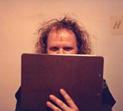 Author photo. Photograph by Steve Venright, 1984.