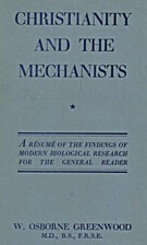 Christianity and the mechanists by William…