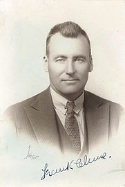 Author photo. Francis Patrick Clune (1893-1971), by unknown photographer, 1930-33. Photo from the State Library of New South Wales.