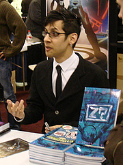 Author photo. SLG signing @ New York Comic-Con 2007, photo by Lampbane