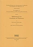 Bildkatalog II zur Geschichte der Pharmazie…