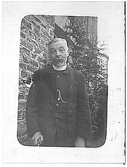 Author photo. George Eyre Evans, Christmas 1904.