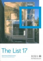 The List 17 : RIBA Directory of Chartered…