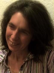 Author photo. Portrait of Sadie Plant, summer 2012