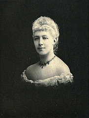 Author photo. Image from <b><i>The story of a lifetime</i></b> (1908) by Lady Eliza Chambers Priestley