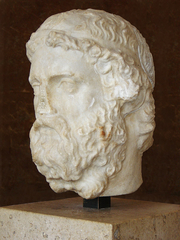 Author photo. Roman Marble, Imperial Period (2nd or 3rd Century).  Photo by Eric Gaba / Wikimedia Commons.