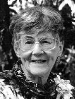 Author photo. Monica Hughes (1925-2003) from <a href=&quot;http://www.librarything.com&quot;>Life in Legacy</a>