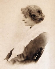Author photo. Eleanor Farjeon in 1899