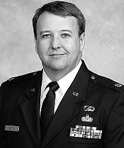 Author photo. Lt. Col. Kendall K. Brown [source: Space Power Integration, 2006, page vii]