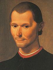 """Author photo. Santi di Tito's portrait of Niccolò Machiavelli, cropped.<br> Via <a href=""""http://commons.wikimedia.org/wiki/Image:Santi_di_Tito_-_Niccolo_Machiavelli%27s_portrait.jpg"""">Wikimedia Commons</a>"""