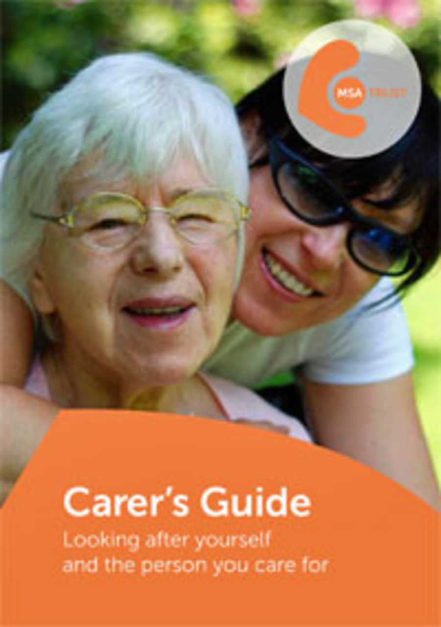 Carer's Guide: Looking after yourself and the person you care for