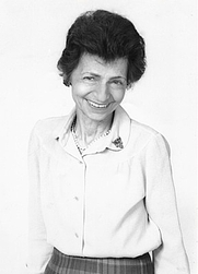 Author photo. Dr. Yvonne Hackenbroch (1912-2012)