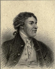 Author photo. Jean Louis de Lolme. Frontispiece from The British prose writers, Vol. 14 (1819)