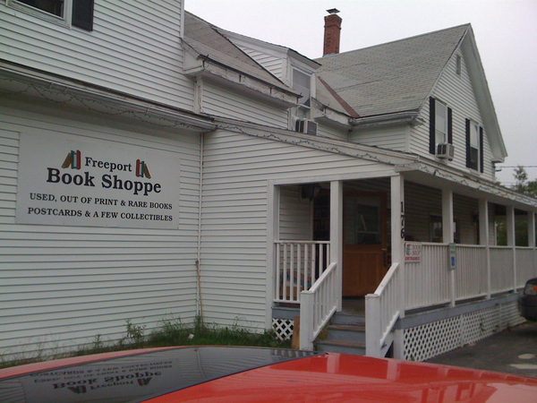Freeport Book Shoppe In Freeport ME LibraryThing Local - Map 176 us route 1 freeport maine 04032