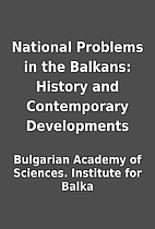 National Problems in the Balkans: History…