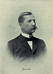 Author photo. Image from <b><i>Andrée's Balloon Expedition in Search of the North Pole</i></b> (1898) by Henri Lachambre and Alexis Machuron